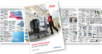 Vileda Professional Catalogue Teaser